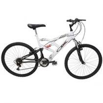 Bicicleta Ox Bike DSX 260 Full Suspension - Aro 26 18 Marchas Freios V-brake