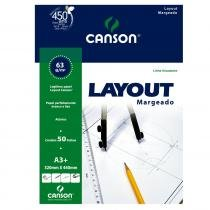 Bloco Lay Out A3 Com Margem 50f 63g Canson 1 7830582