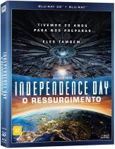 Blu - Ray Independence Day: O Ressurgimento 3d ( Bd 3d + Bd 2d ) 1 6927243