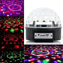 Bola Maluca Led Rgb MP3 Projetor Holográfico Magic Ball Light YCZ001 COMMERCE BRASIL 7555061