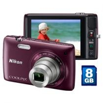 Cmera Digital Nikon Coolpix S4300 16MP LCD 3&#34;