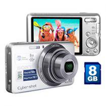 Cmera Digital Sony Cyber-Shot W630 16.1MP LCD 2,7