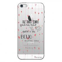 Capa Personalizada Exclusiva para Apple Iphone 5 5S Sons do Brasil - MB20 8016371