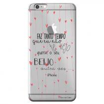 Capa Personalizada Exclusiva para Apple Iphone 6 6S Sons do Brasil - MB20 7947076