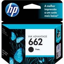 Cartucho de Tinta HP 662 Preto Ink Advantage CZ103AB 7775463