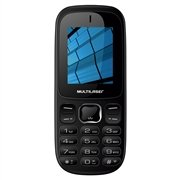 Celular Barra Up 3G, Dual, Bluetooth P9017 Preto - Multilaser Multilaser 7364113