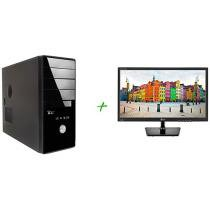 Computador ICC Vision IV1840 - 2S Intel Dual Core 4GB 250GB Linux + Monitor LG LED 19,5 ´ Widescreen 2192648