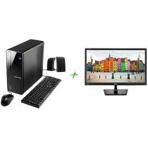 Computador Positivo Stilo DSi7667 Intel Core i3 4GB 1TB Linux + Monitor LG LED 19,5 ´ Widescreen 2192656
