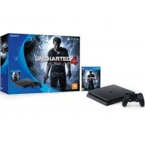 Console Playstation 4 500Gb Slim + Game Uncharted 4: A Thiefs End PS4 7823260
