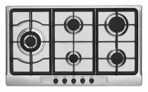 Cooktop Gás Tecno Tripla Chama Lateral 5 Queimadores 90 Cm Inox. THS9T0 - 220V 8585083