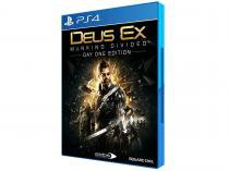Deus Ex Mankind Divided - Day One Edition para PS4 Square Enix