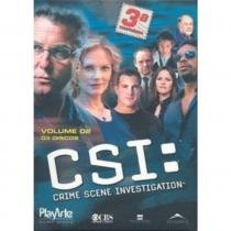 DVD CSI Crime Scene Investigation - 3ª Temporada - Vol 2 3 Discos 9464758
