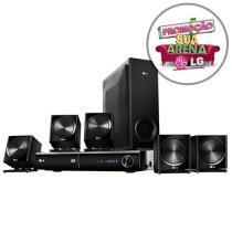 Home Theater LG HB806SV c/ Blu-Ray 3D 850W RMS