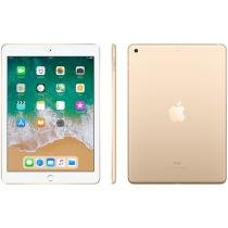 "iPad Apple 128GB Dourado Tela 9,7"" Retina Proc. Chip A9 Câm. 8MP + Frontal iOS 11 Touch ID"