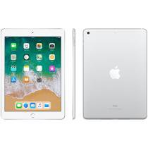 "iPad Apple 32GB Prata Tela 9,7"" Retina Proc. Chip A9 Câm. 8MP + Frontal iOS 11 Touch ID"