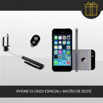 iPhone 5S + Selfie Stick Apple - Cinza Espacial 8581058