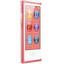 iPod Nano 16GB Rosa Tela 2,5 Apple Multi Touch, Rádio FM e Bluetooth