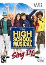 Jogo High School Musical: Sing It ! - Wii 9441623