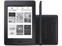 "Kindle Paperwhite Amazon Tela 6"" 4GB Wi-Fi Luz Embutida Preto"