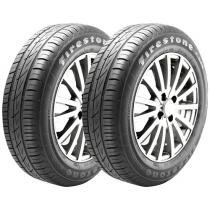 "Kit 2 Pneus Aro 15"" Firestone 195/60R15 F-600"