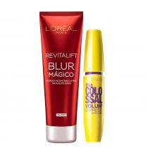 Kit Revitalift Blur Loreal Paris + The Colossal Volum ´ Express Maybelline - Kit 9882414