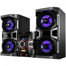 Mini System 1100 Watts RMS Duplo USB 3 CDs