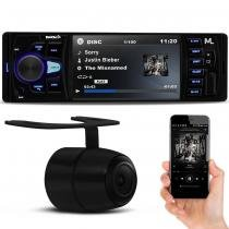MP3 MP5 Player Multilaser P3325 Rock 4 Bluetooth 4 Polegadas USB SD FM AUX + Câmera Ré Prime 6891549