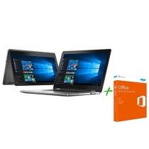 Notebook 2 em 1 Dell Inspiron 15 I15-7568-A20 Intel Core i7 + Office Home and Student 2016