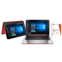 Notebook 2 em 1 HP x360 Convertible 11 - n225br Pavilion Intel Quad Core 4GB 500GB + Pacote Office 2198682
