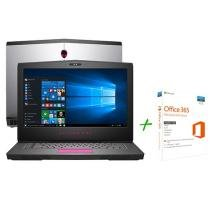 """Notebook Dell Alienware 15 AW-15R3-A50 Intel Core i7 16GB 1TB Tela 15,6"""" + Office 365 Personal"""