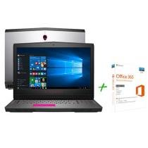"""Notebook Dell Alienware 17 AW-17R4-A20 Intel Core i7 16GB 1TB Tela 17,3"""" + Office 365 Personal"""