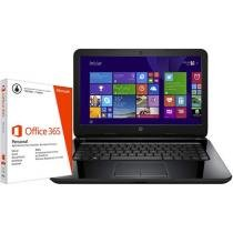Notebook HP 14 r051 Intel Core i3 4GB 500GB + Pacote Aplicativo Office 365 Personal