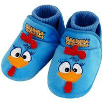 Pantufa Beb Galinha Pintadinha Azul