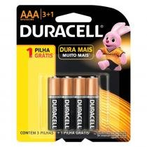 Pilhas Duracell AAA 4 Unidades 8246884