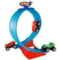 Pista Hot Wheels Rev-Ups Super Loop