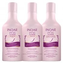Pós Progress Inoar - Kit Kit de Shampoo 250ml + Condicionador 250ml + Leave In 250ml 9673259