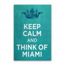Quadro Keep Calm 20x30 YAAY 7957643
