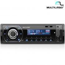 Rádio Automotivo Talk Com Bluetooth Mp3, FM, SD, Aux. P3214 - Multilaser 8351343