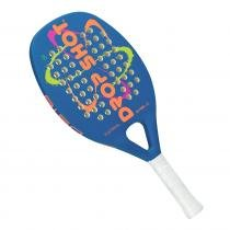 Raquete de Beach Tennis Drop Shot Astral 50cm Azul 7449307