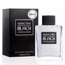 Seduction Black Men Eau de Toilette Antonio Banderas - Perfume Masculino - 200ml 9483743