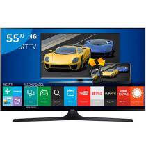 "Smart TV Gamer LED 55"" Samsung UN55J6300 Full HD Conversor Integrado 4 HDMI 3 USB Wi-Fi"