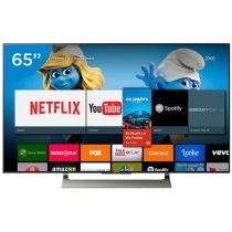"Smart TV LED 65"" Sony 4K/Ultra HD XBR-65X905E Android Conversor Digital Wi-Fi 4 HDMI 3 USB"