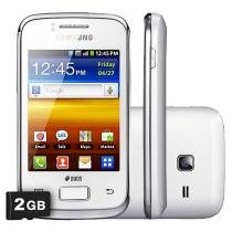 Smartphone 3G Samsung Galaxy Y Duos Desbloq. Claro