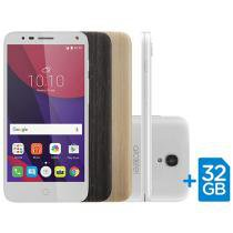 Smartphone Alcatel POP4 5 Premium 8GB Branco Dual Chip 4G Câm. 13MP + Selfie 8MP Tela 5 ´ HD 5051J - PEALBR1 - 1. 2165144