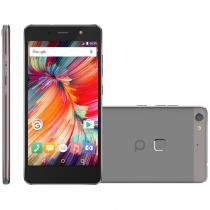 Smartphone quantum fly q7, dual chip, 32gb, 16mp, 4g, cinza 7010752