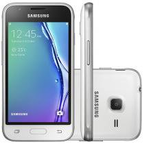 Smartphone Samsung Galaxy J1 Mini 8GB Dual Chip 3G Câm. 5MP 4 ´ Quad - Core Android 5.1 Desbl. Oi SM - J105BZWQZTO. 1557070