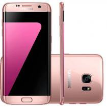 Smartphone Samsung Galaxy S7 Edge Rose 32GB Octa - Core Tela Curva 5.5 ´ 2.3GHz 4G Android 6.0 8106736