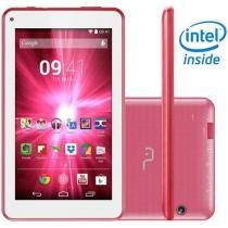"Tablet Multilaser M7-i 8GB Tela 7"" Wi-Fi Android 4.4 Processador Intel Atom Quad Core"
