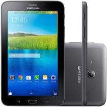 "Tablet Samsung Galaxy E 7.0 8GB Tela 7"" 3G Wi-Fi Android 4.4 Proc. ARM Cortex A7 Quad Core Câm. 2MP"