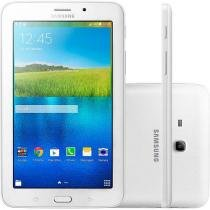 "Tablet Samsung Galaxy E 8GB Tela 7"" Wi-Fi Android 4.4 Quad-Core Câm. 2MP + Frontal 2MP GPS"